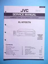 instrucciones Manual de servicio para JVC XL-M705 TN ,ORIGINAL