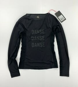 RAPHA Women's Souplesse Long Sleeve Black Base Layer Size XS New