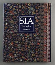 SINGAPORE AIRLINES SIA TAKE-OFF TO SUCCESS HISTORY BOOK 1990 SQ INC CONCORDE