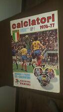 ALBUM FIGURINE PANINI CALCIO 1976 1977 MILAN INTER ROMA LAZIO CALCIO COMPLETO