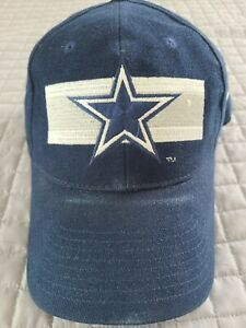 Vintage Nike Pro Line Dallas Cowboys NFL Football Blue Hat Cap, Snapback, w Star