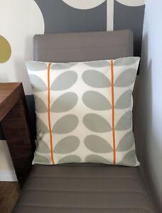 Orla Kiely Two Stem Cream Cushion Cover 16 inch All Sizes