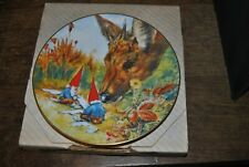 Rien Poortvliet Gnomes Four Seasons Plate Gnome Made