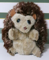 Folkmanis Hedgehog Plush Toy Puppet Super Cute Reversible Toy 17cm Tall!