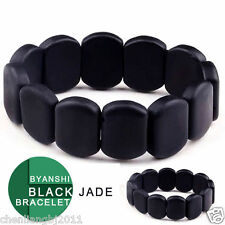 Byanshi Jade Bracelet for health unisex. Natural Bian Stone. Read description