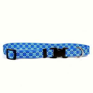NEW Blue Dog and Cat Collar or Leash Hanukkah Stars Holiday by Yellow Dog Design