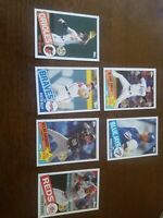 2020 Topps Series 2 1985 All Star (7 Card Lot) 35th Anniversary See Pic
