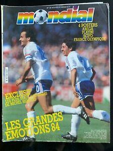 Magazine Mondial Football N°58; FC Porto/ A. Bell/ Tigana/ Trossero/ Hidalgo/ Bo