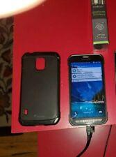Rooted AT&T Samsung Galaxy S5 active. SIM unlocked. Great shape. See pics