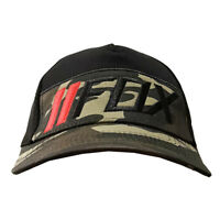 NWT Fox Men's Ball Sport Cap/Hat S/M Size FlexFit Army Green/Black #04 Xmas Gift