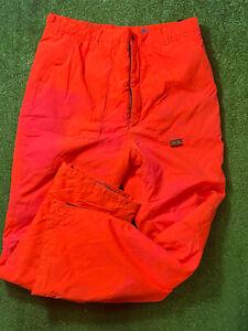 BROWNING Hydro Fleece Gore Tex Orange Hunting Pants Men's Size Large Hunting Pa