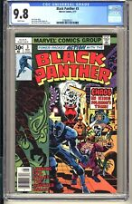 Black Panther #3  CGC 9.8 WP NM/MT  Marvel Comics 1977  Kirby Bronze Age (vol 1)