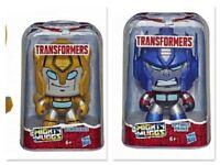 Bumblebee + Optimus Prime Transformers Robot Cambia Faccia 3 Volti Nuovo Hasbro