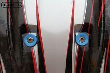 BLUE Recessed Ball Stud Washer Set (6) For Lexan Body Traxxas X-MAXX