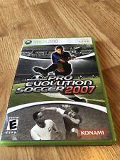 Winning Eleven: Pro Evolution Soccer 2007 (Microsoft Xbox 360, 2007) VC8