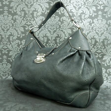 Rise-on LOUIS VUITTON MONOGRAM Mahina Solar Black GM Shoulder bag Handbag #1 t