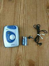 Durabrand Am/Fm Stereo Cassette Player Model #1129 Batteries and Earphones Incl.