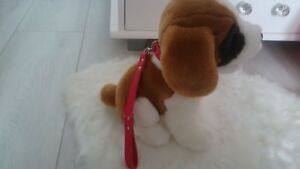 LITTLE DOG APROX 27cm Soft Toy Plush Teddy Bear Baby Animal exc.condition