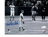 CARLTON FISK WALK OFF HR BOSTON RED SOX AUTOGRAPHED 8X10 PHOTO JSA COA SIGNED