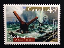 Canada #2043 MNH, D-Day Normandy Stamp 2004