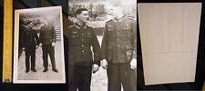 Orig. Foto Wehrmacht 2.WK 3.Reich WWII Uniform Photo Orden Spange Karte Soldat