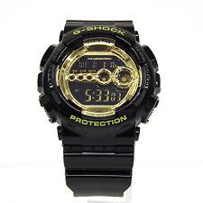 CASIO G-SHOCK GD-100GB-1JF BIG CASE Black × Gold Series Unused