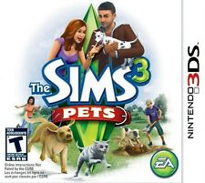 The Sims 3: Pets - Nintendo 3DS Game
