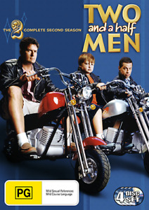 TWO AND A HALF MEN - COMPLETE SEASON 2 DVD (NEW & SEALED)