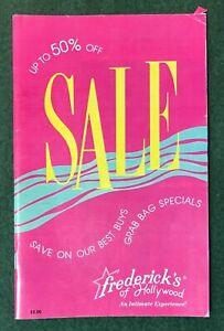 Fredericks of Hollywood catalog v69 #354 1990 Lingerie sexy Fashion bra dresses