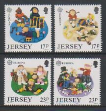 Jersey - 1989, Europa, Children, Toys & Games set - MNH - SG 496/9