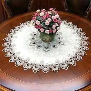 Esstisch Abdeckung Tischdecke Blumen Spitze Tischdecke Tischtuch Haltbar