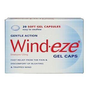 Windeze Gel Capsules 20 Soft Gel Capsules