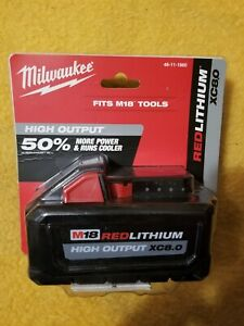 Milwaukee 48-11-1880 M18 XC 8.0Ah Battery