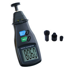 Digital Photo Laser Tachometer Noncontact Tach Line Speed Rpm Handheld Tester