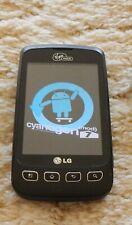 Lot of 2 LG Optimus V VM670 - (Virgin Mobile) -- original box, charging cradle..