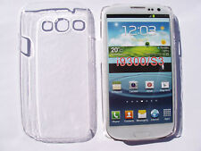 COQUE TRANSPARENT GALAXY S3 (SIII) I9300 SAMSUNG ETUI HOUSSE RIGIDE DE QUALITÉ
