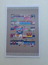 LOT (6) NEW 1984 NEW ORLEANS JAZZ HERITAGE FESTIVAL FEST  POSTER CARD POSTCARDS