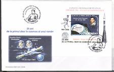 Romania 2006 Cosmos/SPACE SILVER o/p m/s FDC n15852