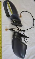 Rétroviseur Latéral Noir GAUCHE NEUF pour VW TOUAREG 07-10 électrique pliable