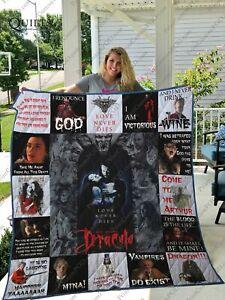 Bram Stoker's Dracula Quilt Blanket Gift Idea For Fan