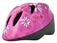 Alpha Plus Junior Pink Helmet Daisy 52-56cm Dial Fit CE & EU Approved