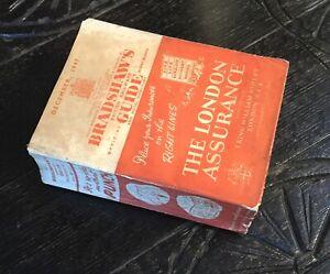 Dec 1947 Original Bradshaws Railway Guide & Hotel Directory Timetable Handbook