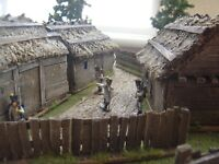 RUSSIAN OR SOVIET VILLAGE SUITABLE BOLT ACTION WW2 NAPOLEONIC  MADE TO ORDER!