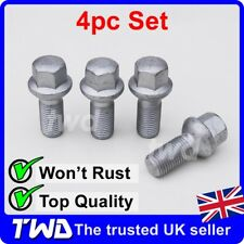 4 x ALLOY WHEEL BOLTS FOR MERCEDES BENZ E-CLASS (2002+) W211 W212 NUTS [MA10]