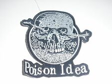 POISON IDEA EMBROIDERED PATCH