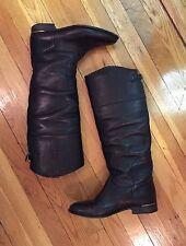 GOLDEN GOOSE *Limited Edition* Designer Black Leather Boots SZ EU 40/US 10 $1298