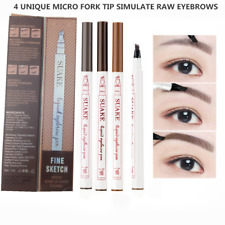 Microblading Tattoo Eyebrow Ink Pen Long Lasting Eye Brow 3D Fork Makeup Pencil