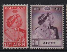 Aden 1948 royal silver Wedding unmounted mint set stamps superb
