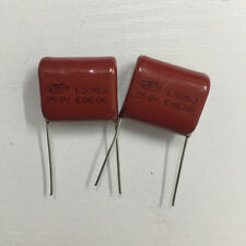 5PCS CL21 335J 250V 3.3UF 3300NF P20 Metallized Film Capacitor