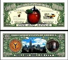 NEW YORK BILLET MILLION DOLLAR US! Collection Ville Etats Unis BIG APPLE NYC USA